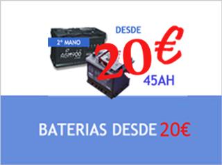 Baterias desde 20€